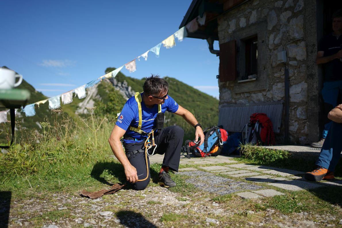 Martl Herzig ist seit 18 Jahren bei der Bergwacht München, Foto: Conie Morarescu