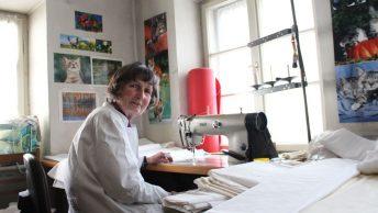 Marianne Amann, Inhaberin von Betten Strüwer Foto: Conie Morarescu