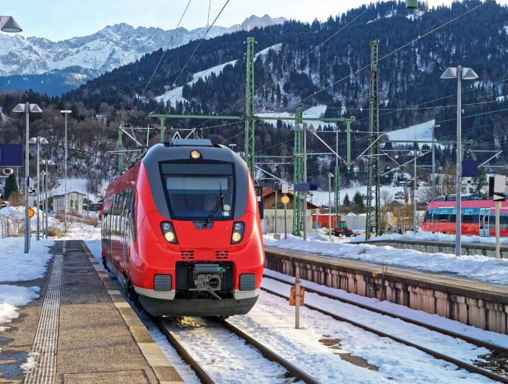 Bahnhof Garmisch-Partenkirchen: Noch fahren die Züge zwischen Weilheim und der Marktgemeinde meist im Stundentakt, Foto: Roman Babakin