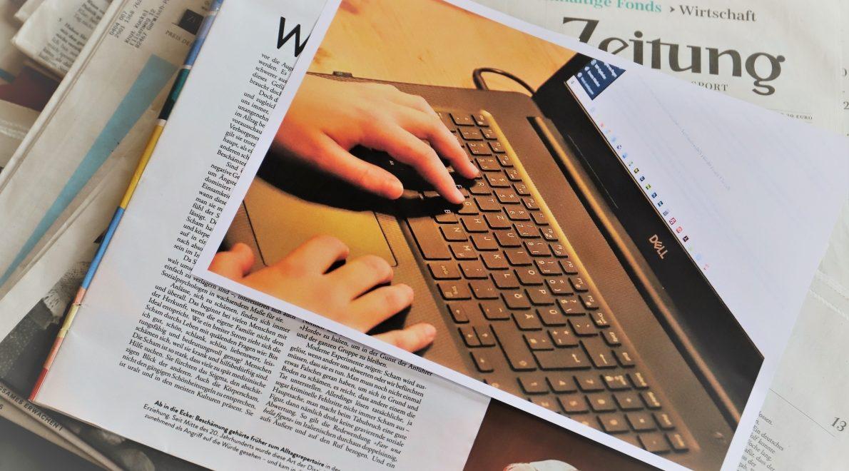 Journalismus im Netz, Foto: Conie Morarescu