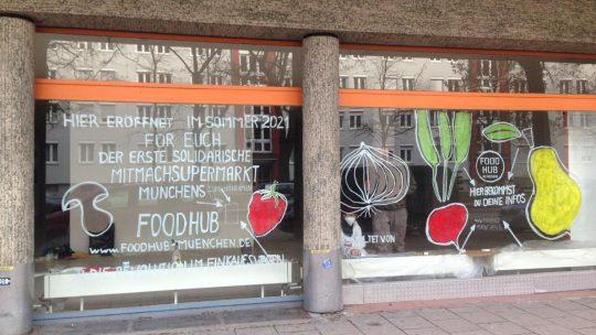 Der erste Mitmach-Supermarkt Münchens eröffnet in Obergiesing: Foodhub